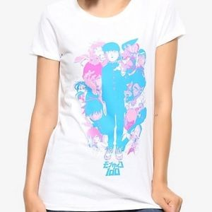 Mobpsycho 100 pastel shirt